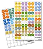 cap stickers large